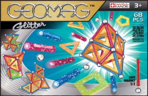 Geomag - Color, Panels, Wheels, Glow, Kor - Geomag panel csillogós 68db - 533