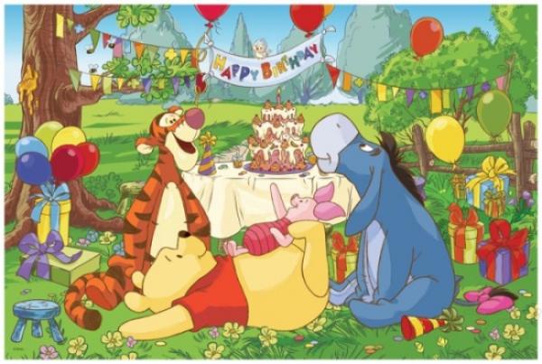 micimackós születésnapi képek 14138   24MAXI Születésnapi parti   Micimackó   Trefl   ToyStore micimackós születésnapi képek